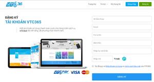 đăng ký tài khoản VTC Pay