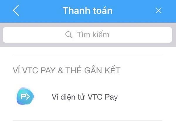 thanh toán hóa đơn