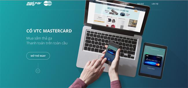 Image result for thẻ vtc mastercard