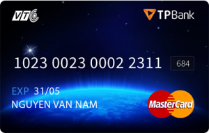 Thẻ VTC Mastercard