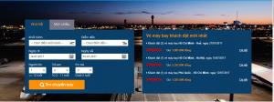 mua vé máy bay trên VTC Pay bằng thẻ mastercard