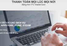 Thanh toán quốc tế với thẻ VTC mastercard