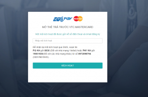 cách đăng ký thẻ mastercard