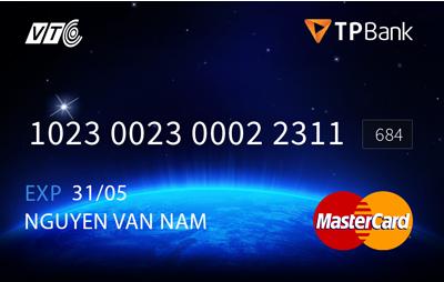 hình ảnh thẻ VTC mastercard