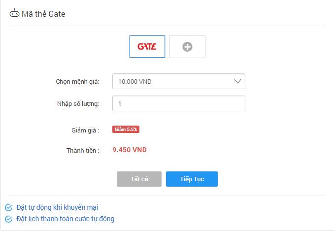 Hình thức mua thẻ Gate qua sms có thực sự rẻ và an toàn?