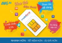 Mua thẻ điện thoại Mobifone tại app VTC Pay