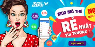 Mua mã thẻ điện thoại tại app VTC Pay