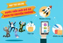 Nạp tiền điện thoại online tại VTC Pay