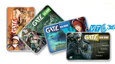 Mua thẻ Gate ở đâu? Thẻ Gate nạp cho game gì?