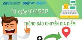 Chi nhánh VTC Intecom tại TP. Hồ Chí Minh chuyển địa điểm mới