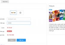 Nạp vcoin giá rẻ, ưu đãi, thanh toán cực nhanh tại VTC Pay