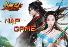 Chính sách quy đổi Đồng từ thẻ Zing Xu trong game Kiếm thế