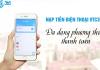 mua mã thẻ điện thoại online - nạp tiền điện thoại online