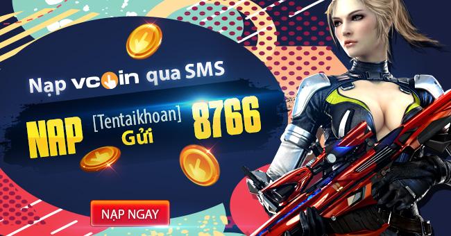 Cách nạp Sò Garena, nạp Zing Xu và nạp Vcoin bằng SMS