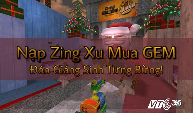 Hướng dẫn nạp Zing Xu mua Gem CF Đột Kích nhanh nhất
