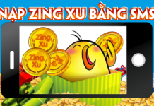 Hướng dẫn nạp Zing Xu bằng SMS 2017