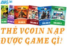 thẻ Vcoin nạp được game gì?