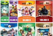 Mua thẻ Vcoin khi chơi game gì, thẻ Vcoin có thể nạp cho hơn 100 tựa game khác nhau