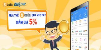 Mua thẻ Scoin trên VTC Pay