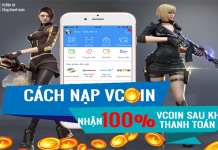 Cách nạp Vcoin giá rẻ