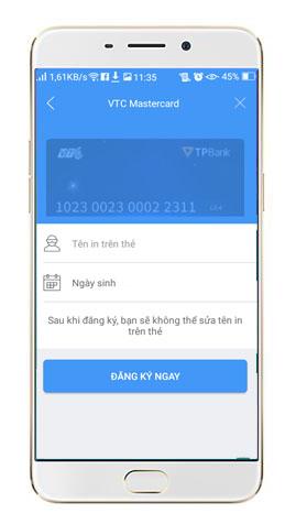 Cách đăng ký thẻ thanh toán quốc tế đơn giản qua điện thoại