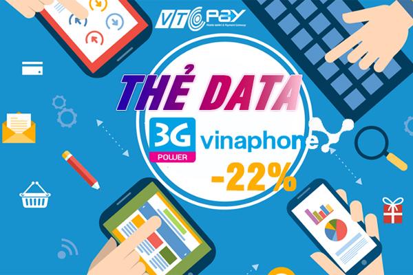 the data 3g vinaphone 600x400