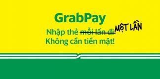 Nạp tiền vào GrabPay
