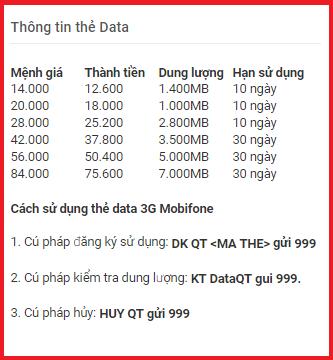 3G mobifone