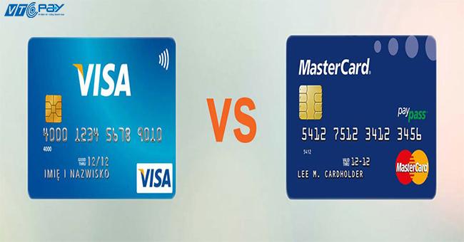 su khac nhau visa mastercard