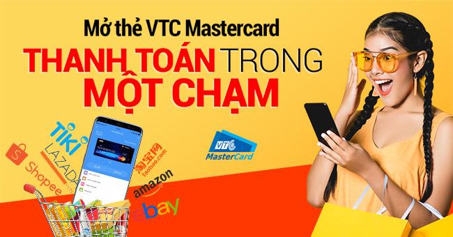 Mở thẻ Mastercard ảo
