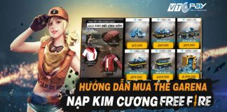 cach nap the garena free fire 3