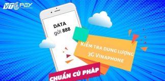 kiem tra dung luong data 3g vinaphone