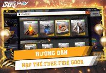 Hướng dẫn nạp thẻ Free Fire 500K