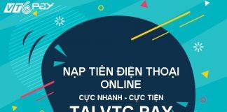 nap tien dien thoai online gia re tai vtc pay