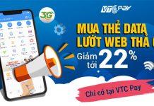 Mua thẻ 3g Vinaphone tại VTC Pay để nhận chiết khấu giá siêu rẻ - data tốc độ cao truy cập thả ga 30 ngày. Đừng bỏ lỡ cách nạp data siêu lời này tại đây...
