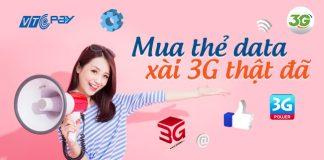mua thẻ data 3G