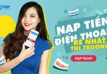 nap tien dien thoai online tại vtc pay