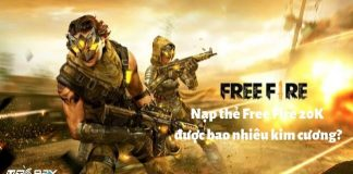 Cach nap the free fire 20k