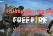 nap the free fire bang tai khoan dien thoai
