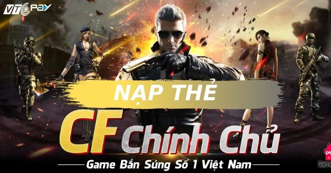 nap the game cf mobile viet nam