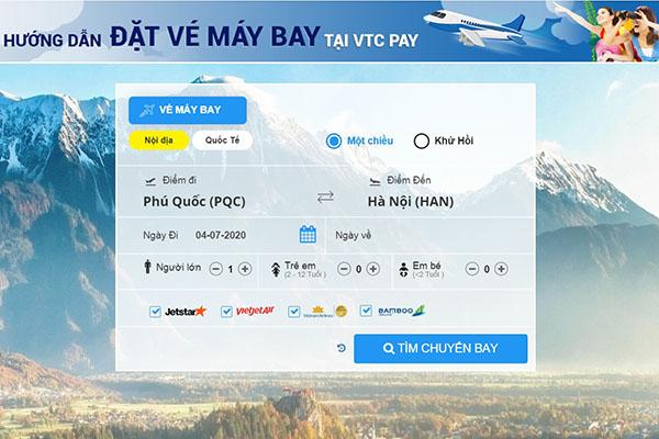 Tìm chuyến bay Vietnam Airline