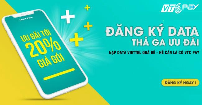 Đăng ký 4G Viettel giảm giá 20%