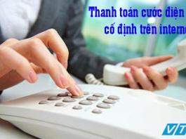 Thanh toán cước điện thoại cố định VTC Pay