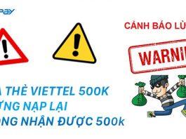 Thẻ Viettel 500k