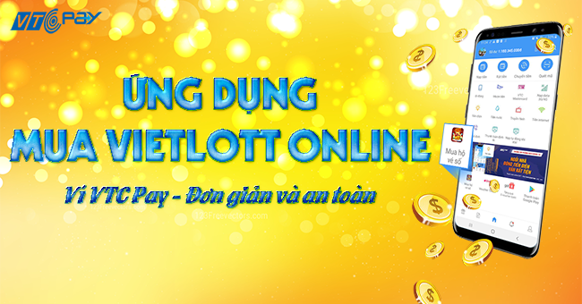 Ứng dụng mua Vietlott online