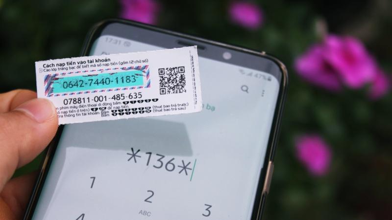 kiểm tra thẻ điện thoại